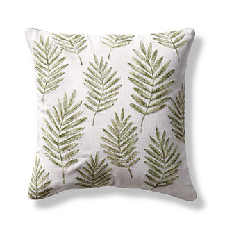 Dunmore Embroidered Decorative Pillow Cover