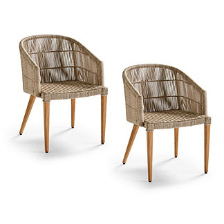 Lowry Dining Arm Chairs, Set of Two