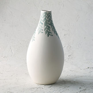 Chastain Fern Tall Vase