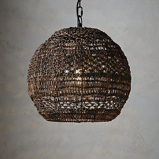 Barstowe Wicker Indoor/Outdoor Pendant