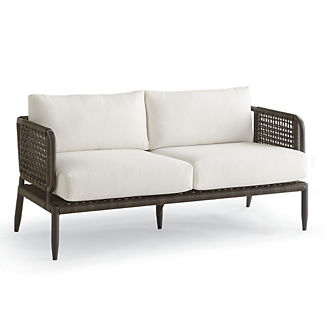 Saratoga Loveseat with Cushions, Special Order