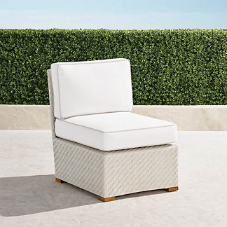 Cadence Center Chair with Cushions, Special Order