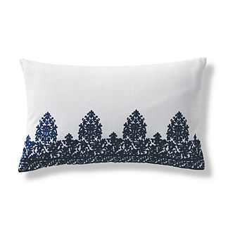 Semira Embroidered Lumbar Pillow Cover