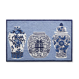 Ming Jars Door Mat