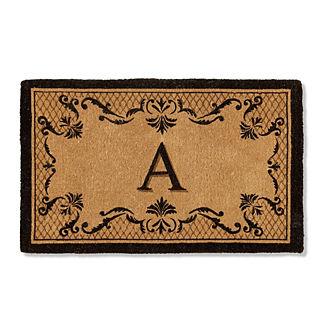 Adlington Monogrammed Coco Door Mat