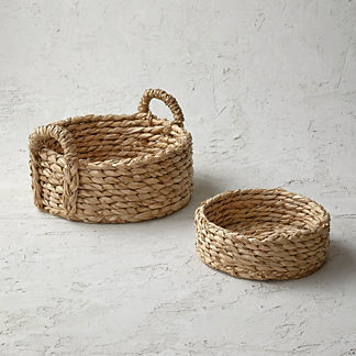 Rush Round Bread Basket