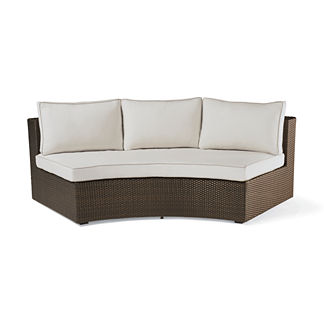 Pasadena II Sofa in Bronze Finish, Special Order