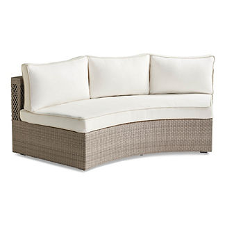 Pasadena II Sofa in Dove Finish, Special Order