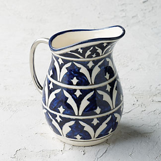 Piazza Ceramic Pitcher
