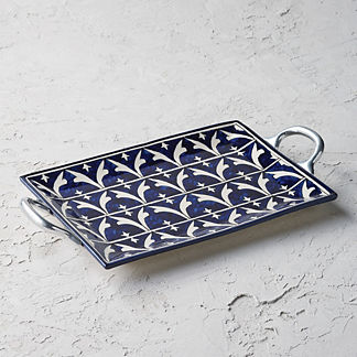 Piazza Ceramic Serving Tray