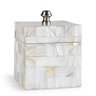 Mother-of-pearl Canister