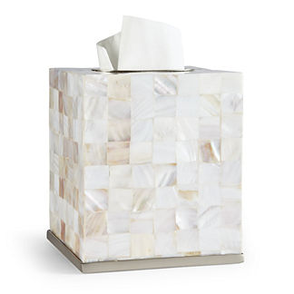 Mother-of-pearl Tissue Cover