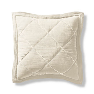 Willow Cotton Linen Euro Sham