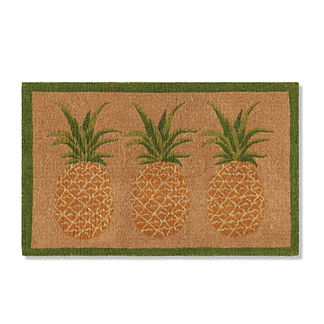 Pineapple Coco Door Mat