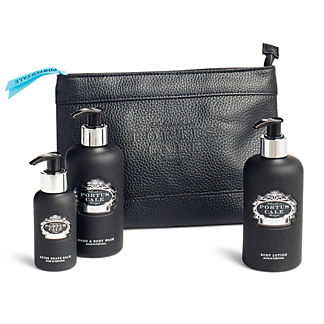 Portus Cale Black Edition Travel Set