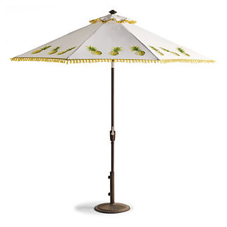 Pineapple Dance Citrus Designer Umbrella