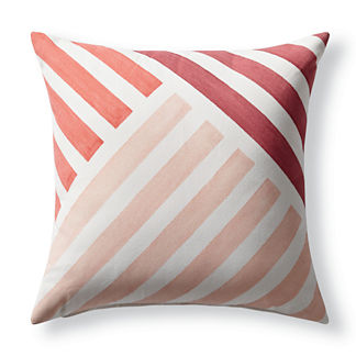 Bold Striped Pillow Frontgate