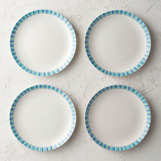 Alhambra Dinner Plates, Set of Four