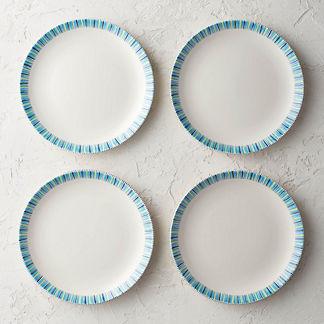 Alhambra Dinner Plates, Set of Four