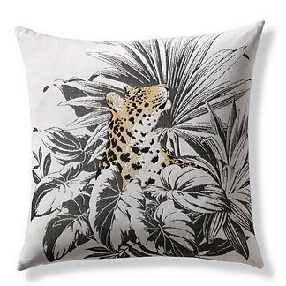 Karima Leopard Indoor/Outdoor Pillow by Elaine Smith
