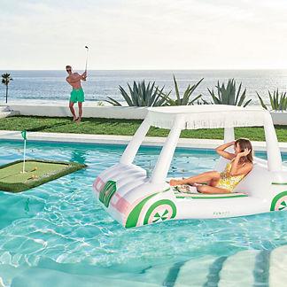 Floating Golf Cart