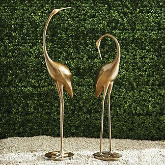 Brass Cranes