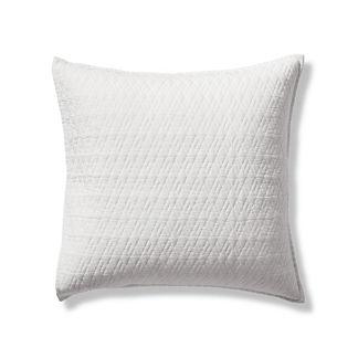 Diamond Cotton Linen Euro Sham