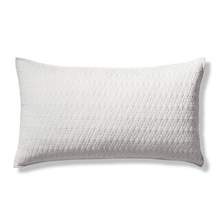 Diamond Cotton Linen Pillow Sham