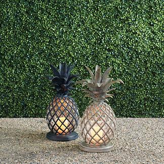 St. Simons Pineapple Lantern