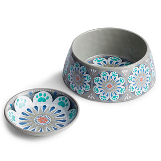 Traditional Melamine Pet Bowls