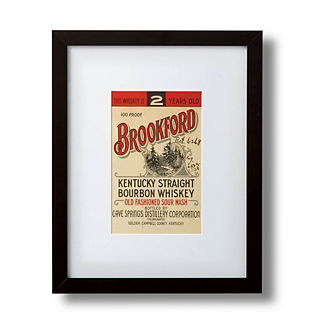 Brookford Bourbon Label Giclee Print