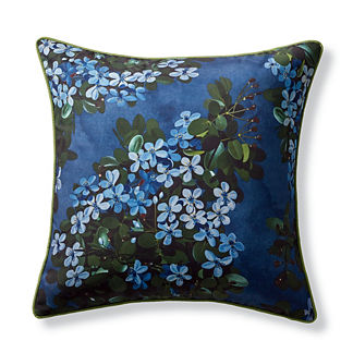 New York Botanical Garden Hydrangea Indoor/Outdoor Pillow