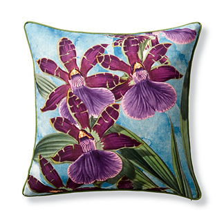 New York Botanical Garden Orchid Indoor/Outdoor Pillow