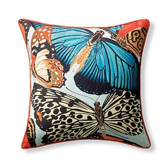 New York Botanical Garden Butterfly Indoor/Outdoor Pillow