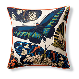 New York Botanical Garden Butterfly Indoor/Outdoor Pillow