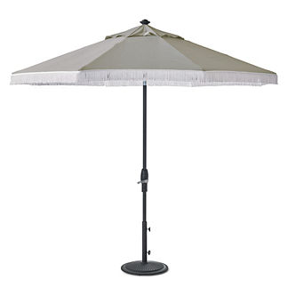 Designer 9 ft. Umbrella with Fringe