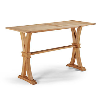 Teak Farmhouse Bar Table