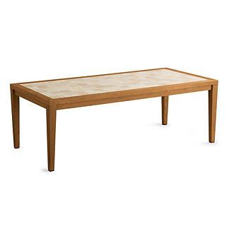 Travertine Tile Table