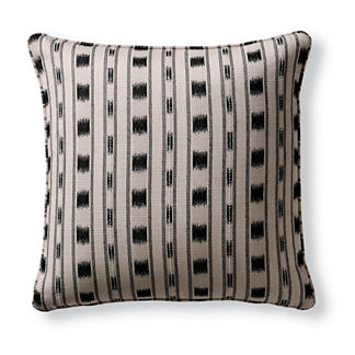 Ikat Stripe Indoor/Outdoor Pillow