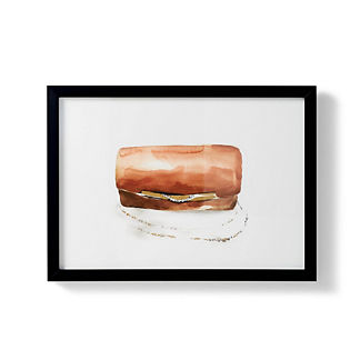 Watercolor Clutch Giclee Print II
