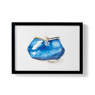 Watercolor Clutch Giclee Print I