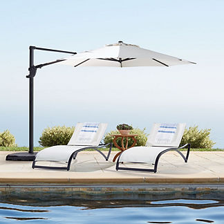 Poolside Cantilever Umbrella