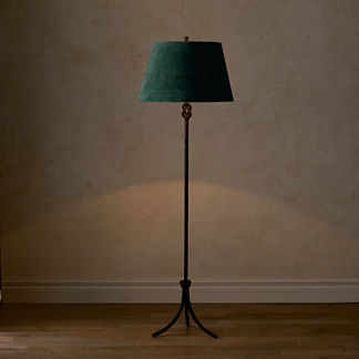 Keeley Black Floor Lamp