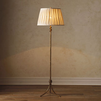 Keeley Brass Floor Lamp