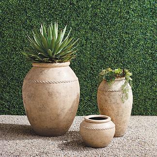 Valencia Jar Planters