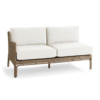Seton Left-facing Loveseat Replacement Cushions, Special Order