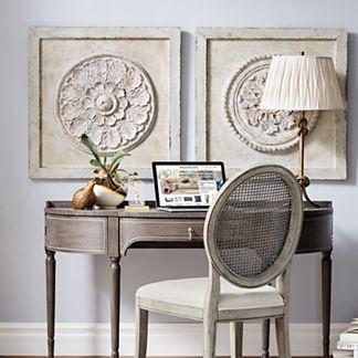 Taylor Demilune Desk/Vanity