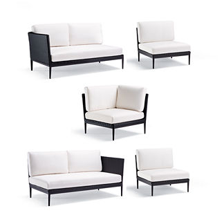 Palazzo 5-pc. Modular Set Tailored Furniture Covers