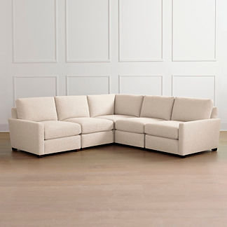 Berkeley 5-piece Track-arm Modular Sectional, Special Order