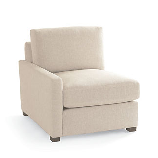 Berkeley Track-arm Modular Left-facing Chair, Special Order